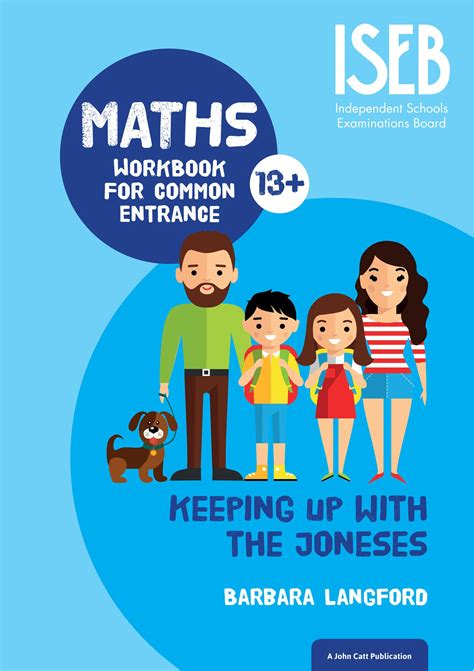 keeping up with the joneses maths workbook for common