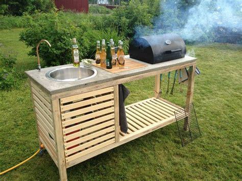 Outdoor Küche Diy by Diy Outdoor K 252 Che Diy Do It Yourself Ideen