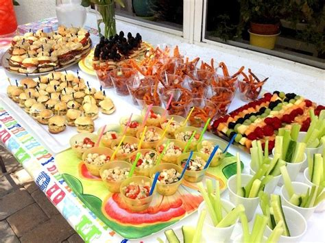food ideas buffet decoration