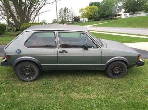 volkswagen rabbit truck 1982 1982 volkswagen rabbit project car for sale