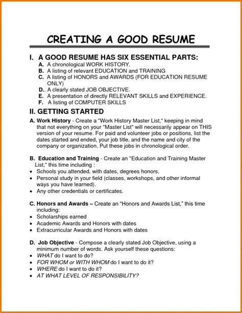 Listing internship on resume