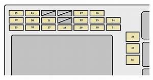 2003 Toyota Tundra Fuse Box Diagram