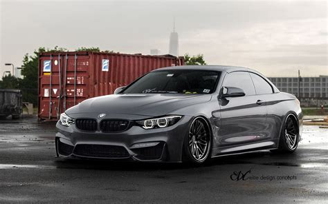 Mineral Grey Bmw by Mineral Grey Metallic Bmw M4 Convertible On Edc Wheels