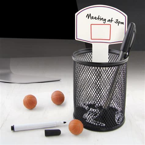 cadeau pour bureau kit basketball de bureau cadeau insolite