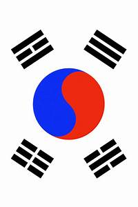 South Korea Flag iPhone Wallpaper HD