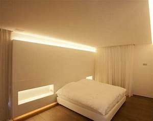 Beleuchtung Für Schlafzimmer : indirekte beleuchtung an decke 68 tolle fotos ~ Markanthonyermac.com Haus und Dekorationen