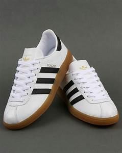 White And Black : adidas munchen trainers white black leather originals shoes mens ~ Medecine-chirurgie-esthetiques.com Avis de Voitures