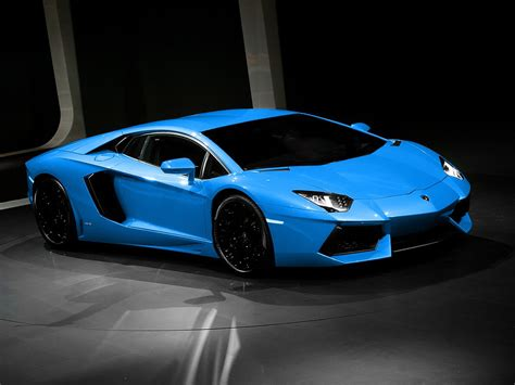 Blue Wallpaper Iphone 6 Lamborghini by 16 Best Blue Lamborghini Aventador Hd Wallpapers Sonijem