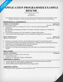 Computer Programmer Resume Exles by Tester Resume Sles Visualcv Resume Sles Database Computer Programmer Chief Cv Work