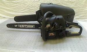 Craftsman 42cc 18 U0026 39  U0026 39  Gas Chain Saw Chainsaw Tadd