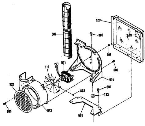 Electrical Fan Diagram by General Electric Jdp36gp Electric Range Timer Stove