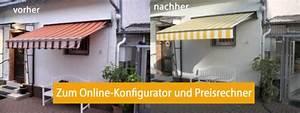 Markise Neu Bespannen Kosten : markise neu bespannen mit markisenstoff nach ma von ~ Frokenaadalensverden.com Haus und Dekorationen