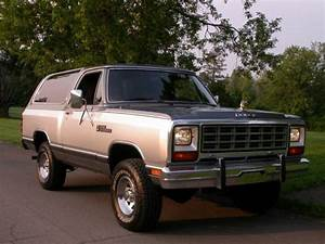 1985 Dodge Ramcharger Royal Se    76 700 Original Miles