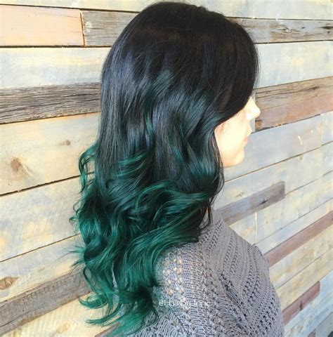Top 25 Green Ombre Hair Colors Hair Colors Ideas