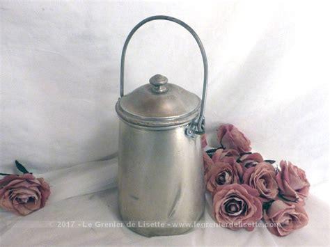ancien pot a lait ancien pot 224 lait en alu le grenier de lisette