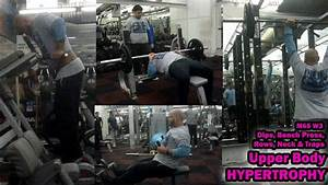 Upper Body Hypertrophy Workout Using Compound Exercises Only