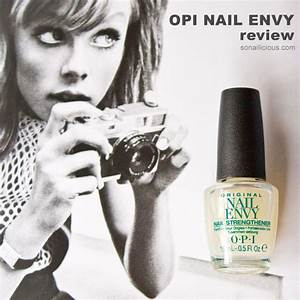 An Easy Way to Get Stronger Nails OPI Nail Envy Review