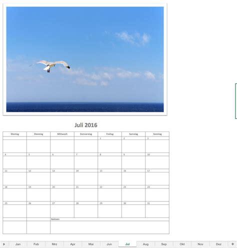 fotokalender  excel vorlagen fuer jeden zweck
