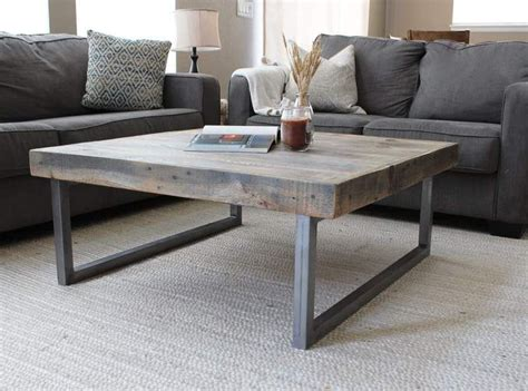 Explore 54 listings for farmhouse coffee table at best prices. Modern Farmhouse Reclaimed Wood and Metal Square Coffee Table - JW Atlas Wood Co. | Coffee table ...