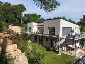 top un terrain prsentant une forte pente et une roche dure With maison en pente forte 10 maison sous sol complet saphir logivelay