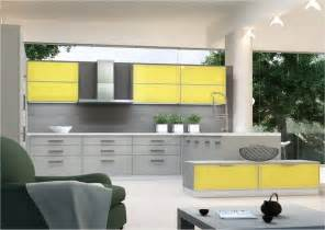 grey and yellow kitchen ideas modern yellow and grey kitchen ideas