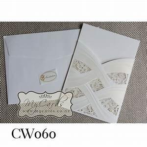 lasercut embossed wedding invitation cover wedding With embossed wedding invitations nz