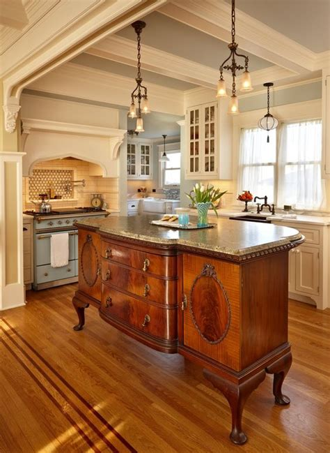antique kitchen island 4 tips and 30 ideas to spruce up your kitchen digsdigs