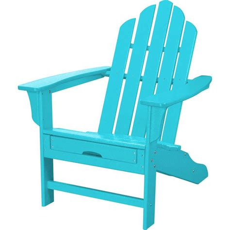 hanover all weather patio adirondack chair with hide away