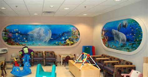 Nebraska Artist-undersea Mural For A Children's Hospital