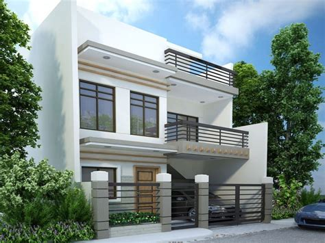 middle class modern two story house two story modern house design 2 storey modern house plans