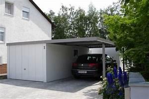 Garage Carport Kombination : carport anbau carport garage stahl ~ Markanthonyermac.com Haus und Dekorationen