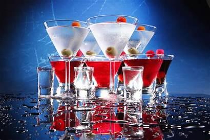 Cocktails Drinks Background Martini Menu Bar Cocktail