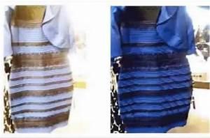 cerveau de nouveaux elements sur le mystere de la robe bleue With robe effet d optique