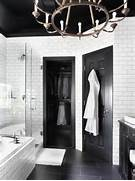 Bathrooms With Black And White Tile by Timeless Black And White Master Bathroom Makeover Bathroom Ideas Desi