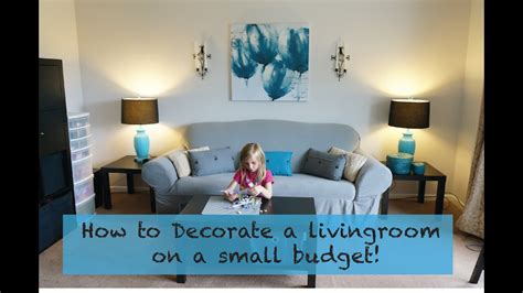 Ideas For Living Rooms On A Budget by How To Decorate A Living Room On A Really Small Budget