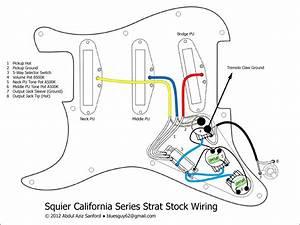 Schecter Strat Wiring Diagram
