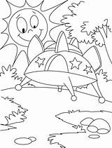 Ufo Coloring Pages Advanced Vehicle Sky Bestcoloringpages Objects Worksheets Labels sketch template