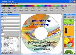 filegets audiolabel cd dvd labeler screenshot smart cd With cd cover printing software