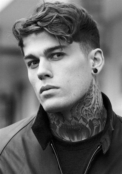 Men's Hairstyle Inspirations From 4 Top Male Models