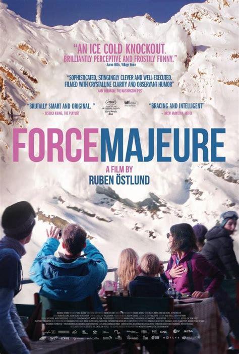 Fuerza mayor (2014) Ruben Östlund (con imágenes