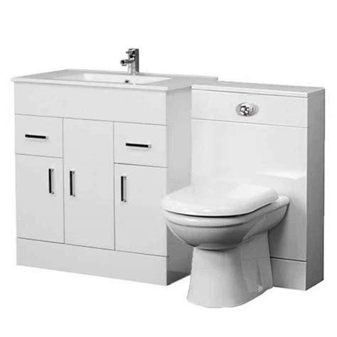 Bathroom Sink And Vanity Unit - 1300mm bathroom vanity unit back to wall toilet basin sink