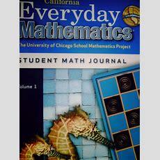 California Everyday Mathematics 2 Student Math Journal 1 (p) [0076097978]  $695  Textbook And