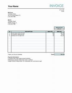 152 best invoice templates images on pinterest invoice With freelance hourly invoice template