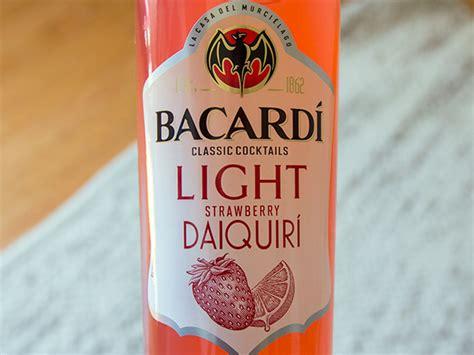 We Try The New Bacardi Light Strawberry Daiquiri