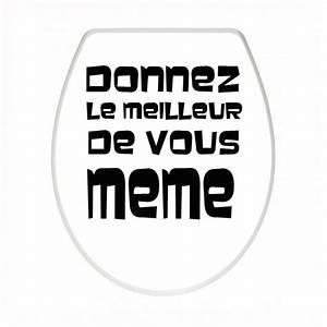 Sticker Abattant Wc Humoristique Custom Sticker