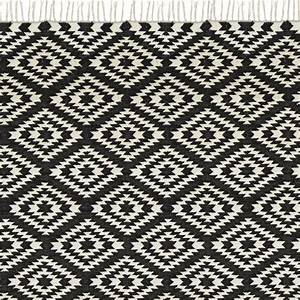 Teppich 100 X 200 : teppich apache 200 x 300 cm schwarz weiss bei le bon jour ~ Bigdaddyawards.com Haus und Dekorationen