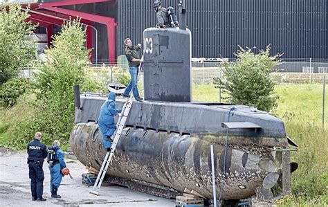 Danish Police Say Mystery Submarine Seems To Have Been