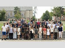 New International Students Welcomed to St Lawrence St
