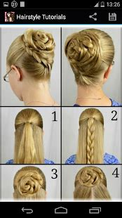 Step By Step Hairstyles For by Hairstyles Step By Step Android Apps On Play