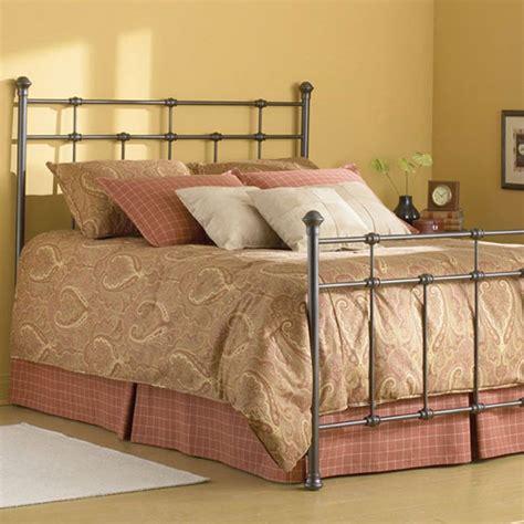 dexter metal bed iron accents